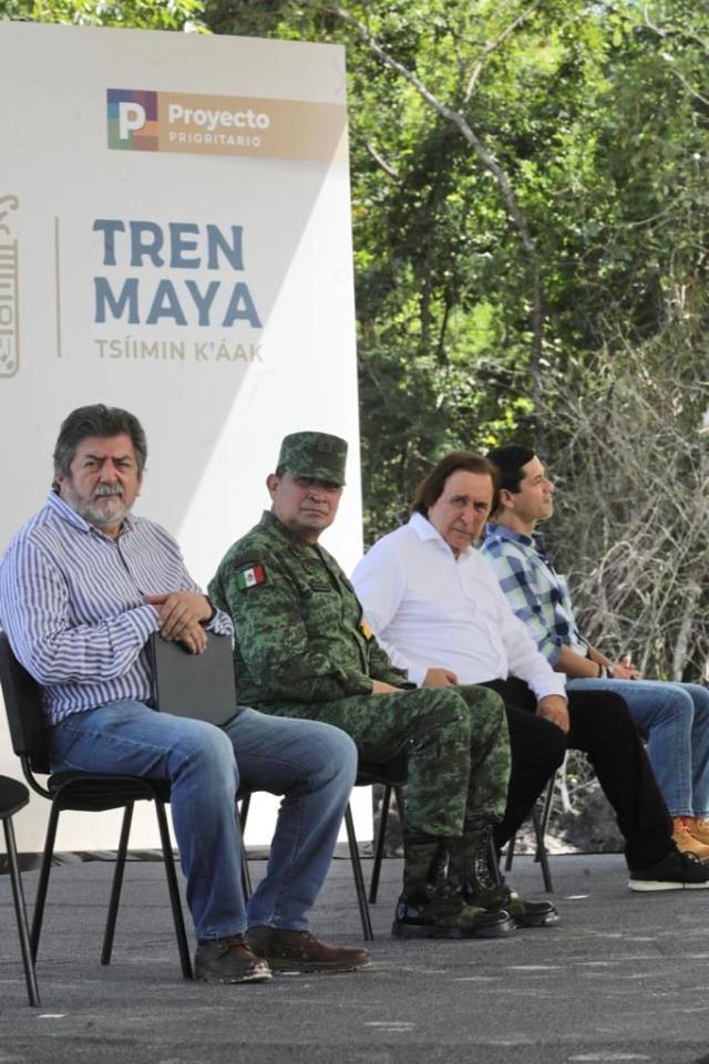 No habrá reubicaciones forzosas por obras del Tren Maya: Jiménez Pons