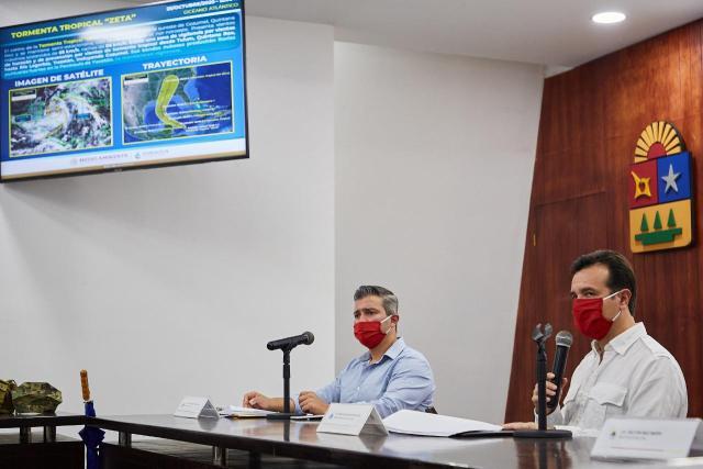 """Emiten alerta amarilla en Cozumel por tormenta tropical """"Z"""""""