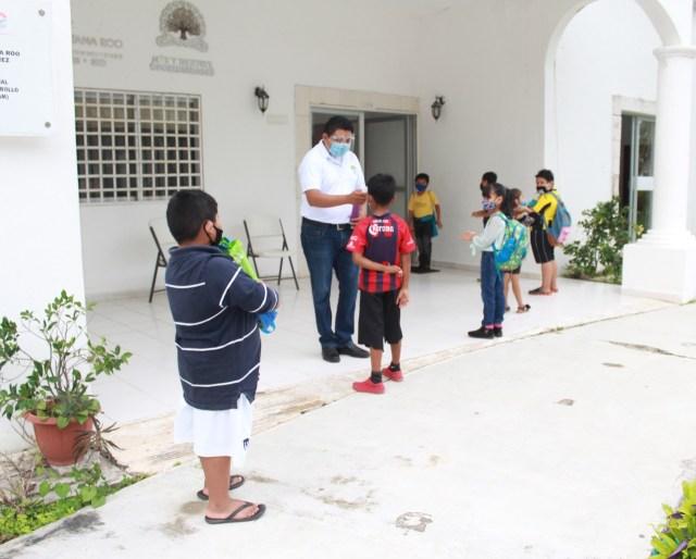 Brinda el DIF Quintana Roo espacio para que las niñas y niños continúen sus estudios a distancia