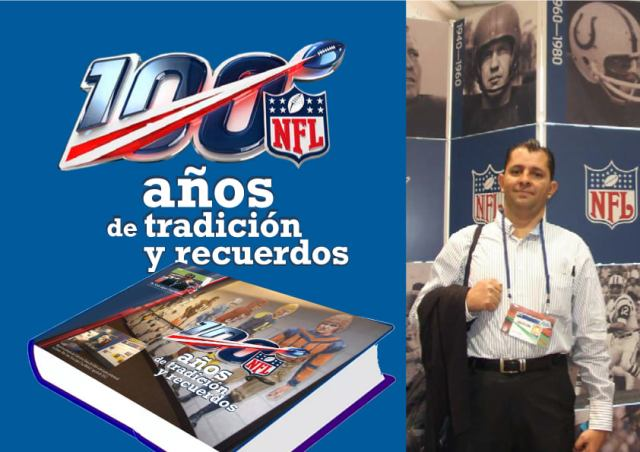 """Libro digital """"NFL: 100 años"""", de Sixto López Casamadrid"""