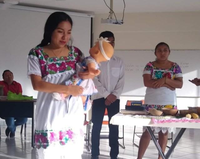 Destacan vigencia del ritual Maya del Jeetsmeek en pleno Siglo XXI
