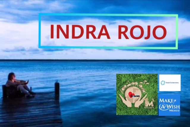 La activista cancunense Indra Rojo en entrevista