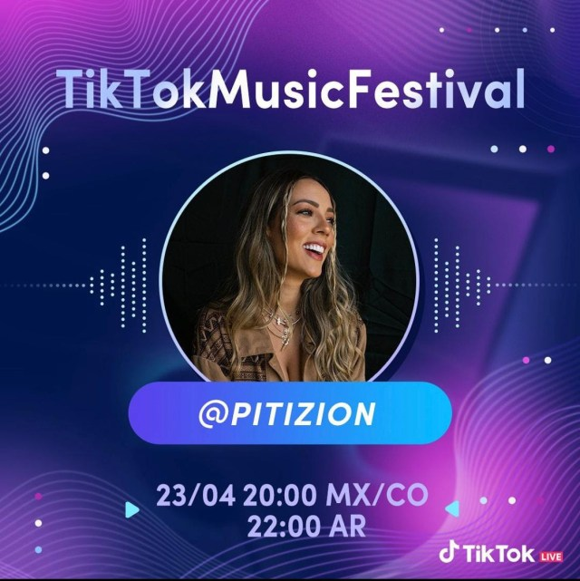 PITIZION, ARTISTA COLOMBIANA PRESENTE EN EL TIKTOK MUSIC FESTIVAL