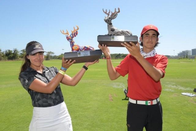 Se coronan los nuevos campeones nacionales del golf infantil-juvenil