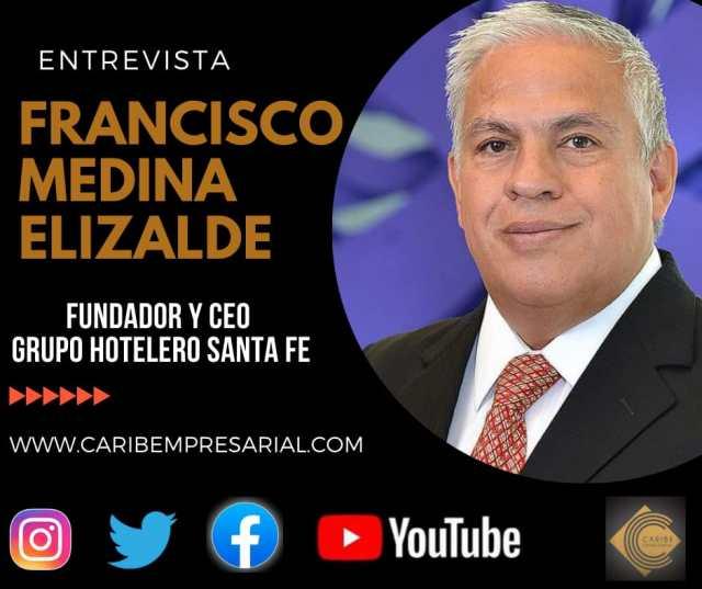 De la A a la Z con el hotelero Francisco Medina Elizalde