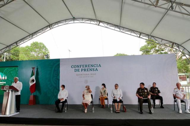 Inicio accidentado de la gira presidencial por el sur de Quintana Roo