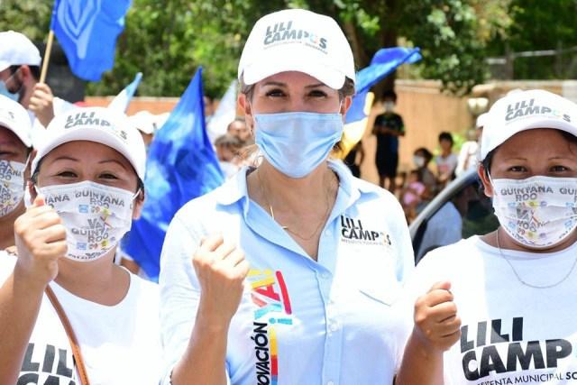 Pide Lili Campos relegar diferencias partidistas y planear un mejor futuro para Solidaridad