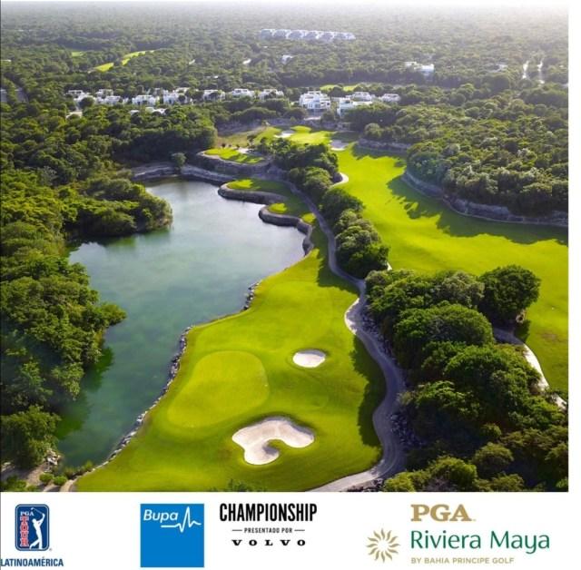 PGA TOUR Latinoamérica cerrará su temporada 2020-21 en México con el Bupa Championship presentado por Volvo en PGA Riviera Maya