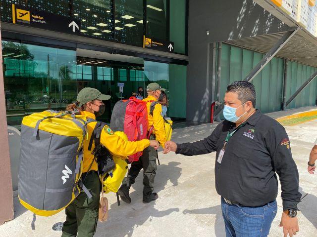 Combatirán quintanarroenses incendios forestales en Canadá