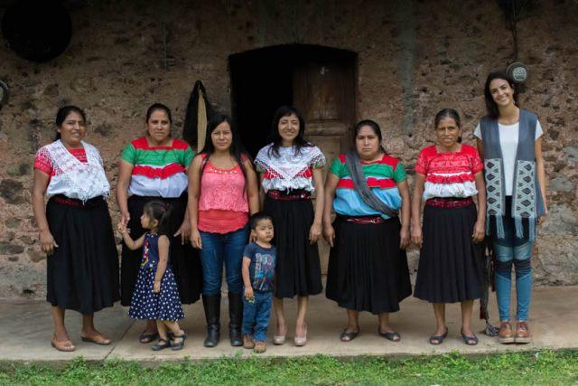 Denisse Kuri, reivindicando el arte textil indígena