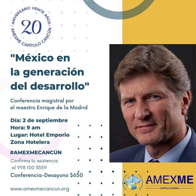AMEXME capítulo Cancún celebra en grande su 20 Aniversario