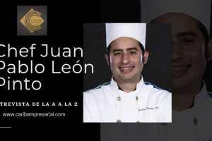 El chef mexicano Juan Pablo León Pinto en entrevista de la A a la Z