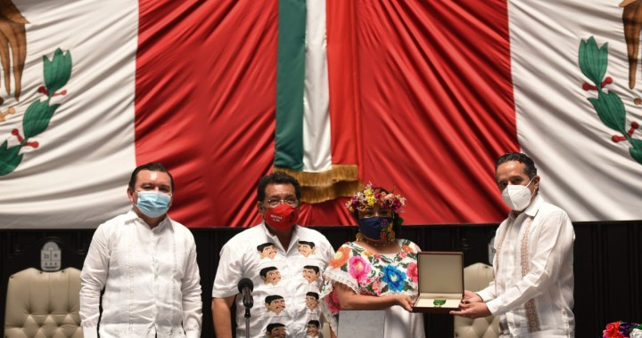 Gana feminista Maritza del Carmen Yeh Cha nmedaya Cecilio Chi