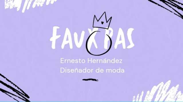 """""""Faux Pas"""", la video columna del diseñador de Ernesto Hernández @ehernandezmoda"""