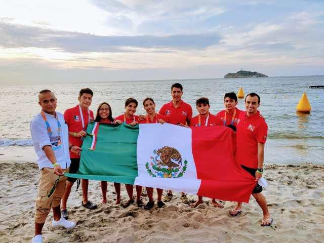 Concluye selección mexicana con resultados favorecedores en el Mundial de Aguas Abiertas