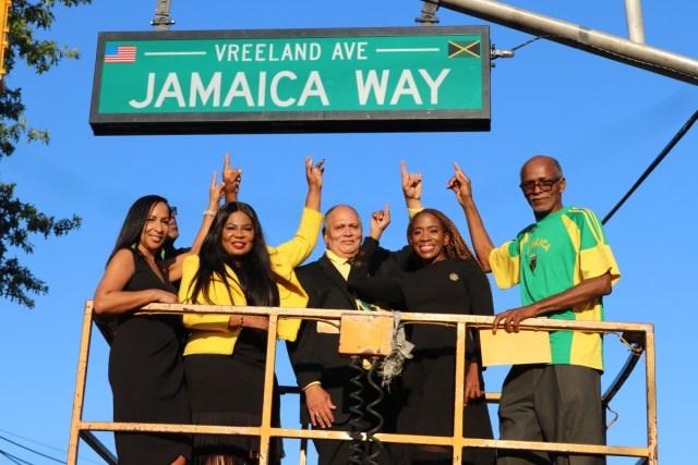 """Inauguran """"Jamaica Way"""" en Nueva Jersey"""