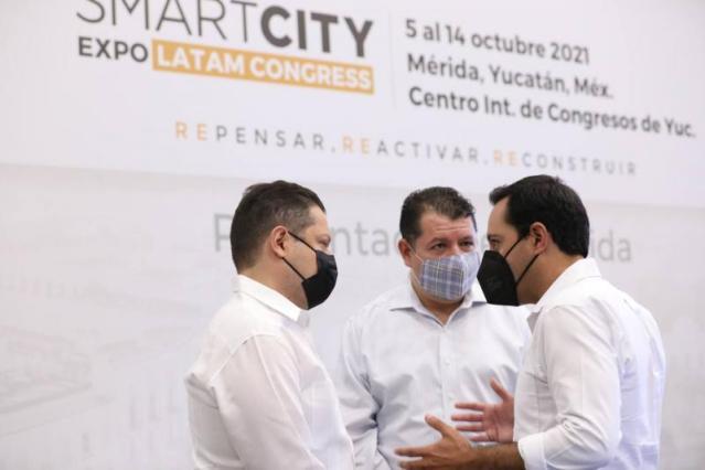 Se encuentra listo Yucatán para el Smart City Expo LATAM Congress
