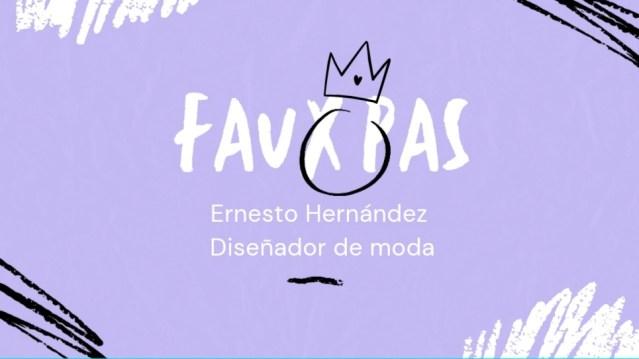 """La sección """"Faux Pas"""" de Ernesto Hernández y los diseñadores mexicanos en la Expo de Dubai"""