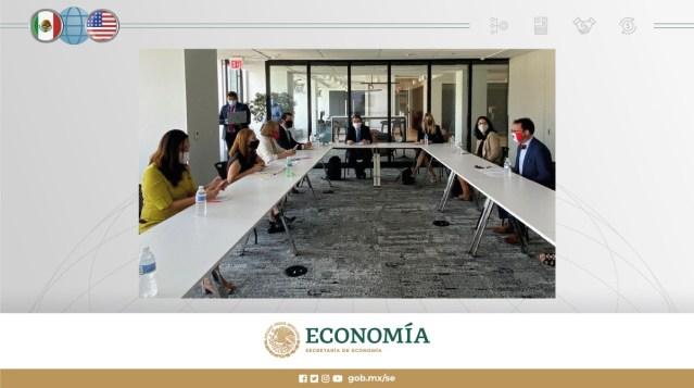 Economía digital, cadenas de suministro e innovación en el primer día de Clouthier en Washington