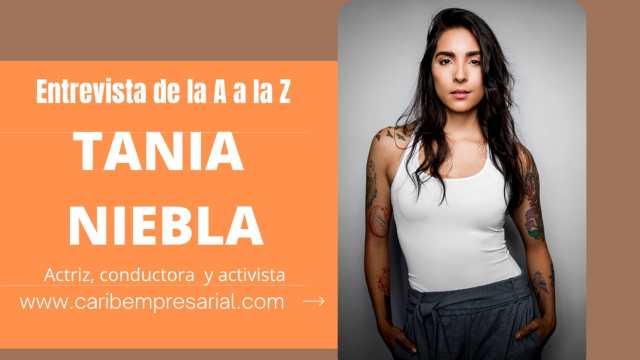 """Tania Niebla en entrevista """"De la A a la Z"""""""