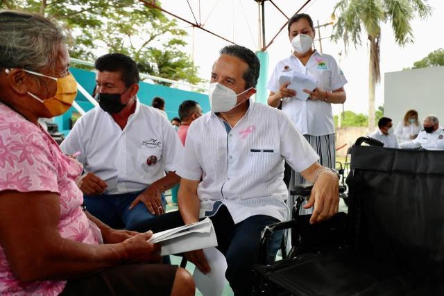 """Se han atendido más de 18 mil asuntos en Quintana Roo en audiencias """"Platicale al gobernador"""""""