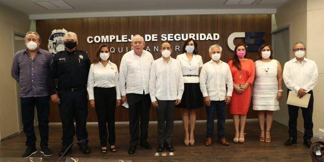 Reafirman Quintana Roo y la Federación, compromiso de coordinación en materia de seguridad