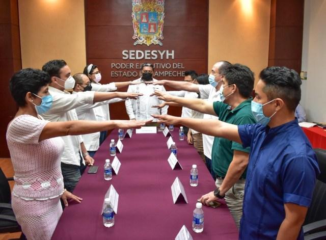 Toma protesta Comité de Pueblos y Comunidades Indígenas en Campeche