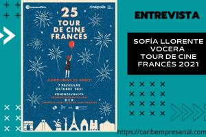 Sofía Llorente, Vocera de la 25º edición del Tour de Cine Francés nos da pormenores de este ciclo en entrevista @tourcinefrances