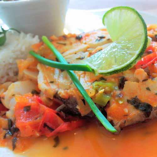 Court-bouillon de poisson de Je cuisine créole