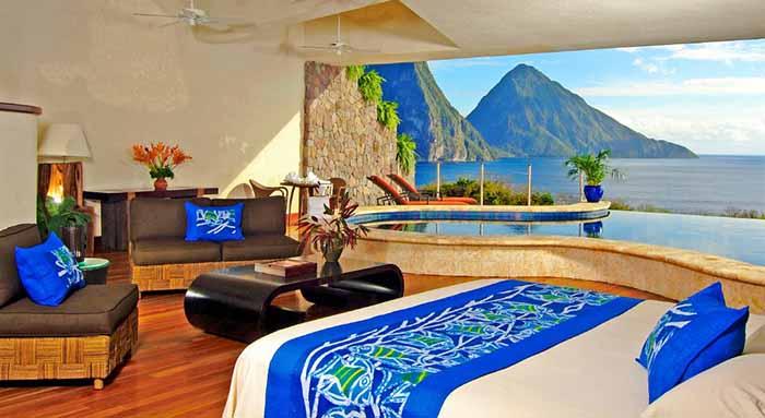 idees cadeau voyageur originale caraibexpat 23 hotel luxe sainte lucie jade mountain