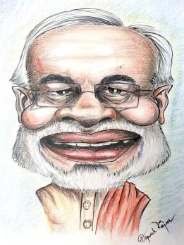 Narendra Modi Caricature