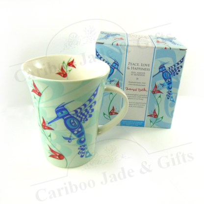 Peace, Love & Happiness mug