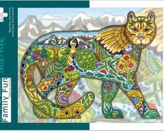 cougar art puzzle
