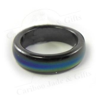 magnetic hematite mood ring