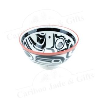 porcelain bowl Raven Transforming