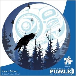 """Raven Moon"" puzzle by Mark Preston"
