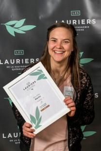 Ann-Rika Martin est finaliste dans la catégorie Révélation de l'année