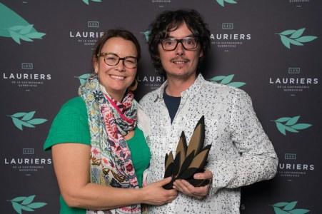 Producteur de l'année: Miels d'Anicet - Anne-Virginie Schmidt et Anicet Desrochers