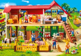 La ferme Playmobil suisse