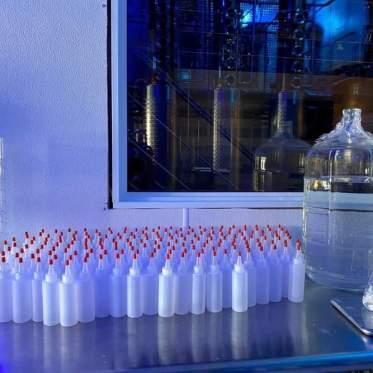 Distillerie désinfectant