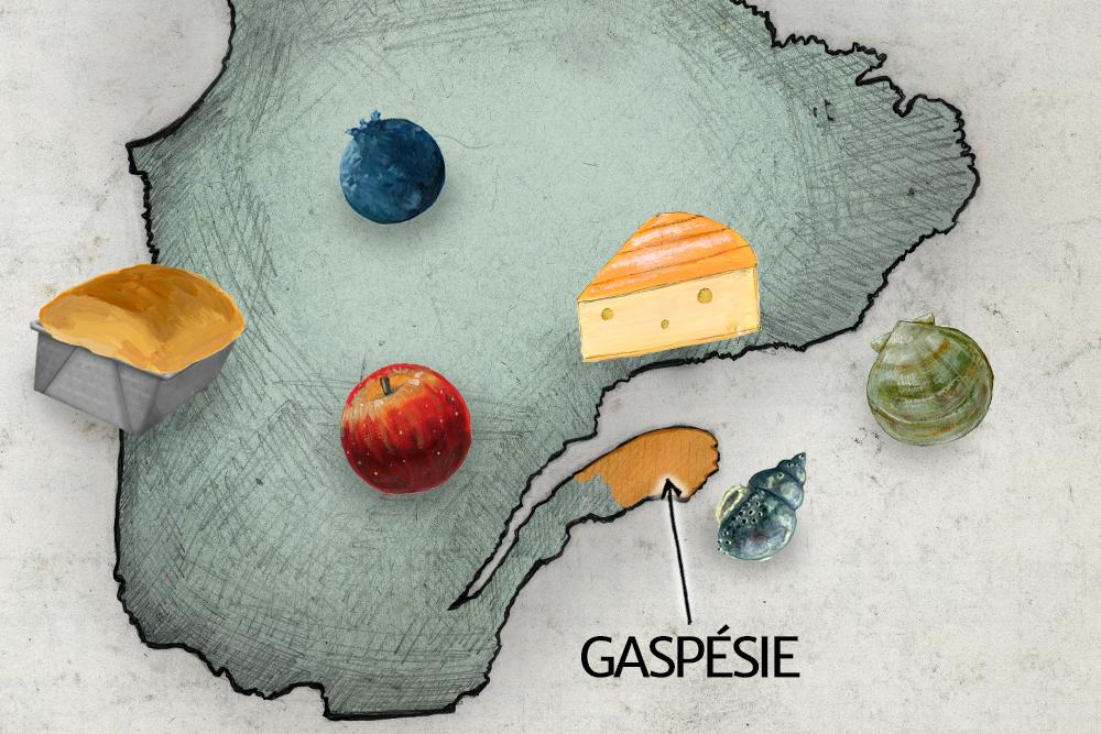 Manger local en Gaspésie