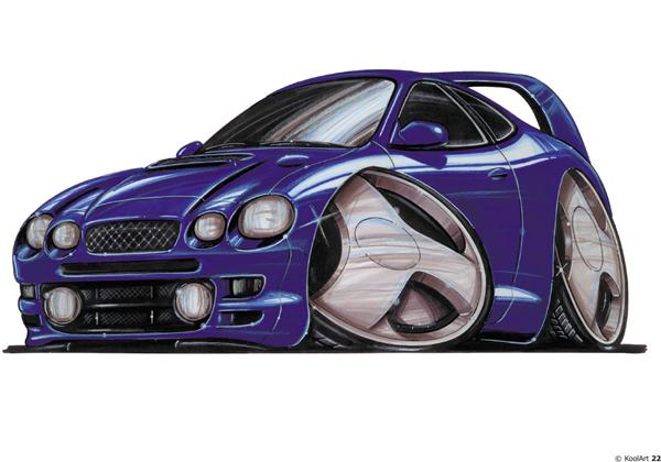 Toyota Celica Violette