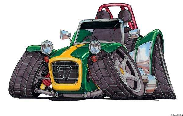 Lotus Seven Sport Verte