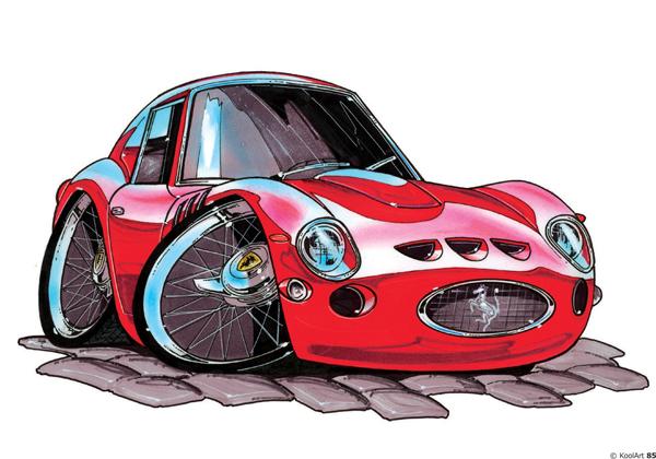 Ferrari GTO Rouge