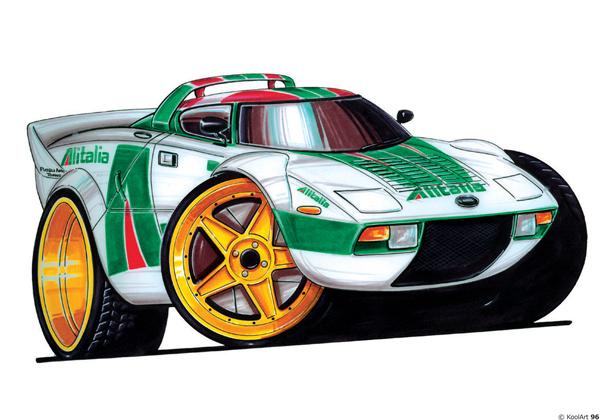 Lancia Stratos Rallye Blanche