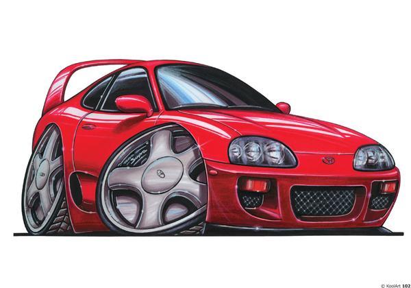 Toyota Supra Sport Rouge