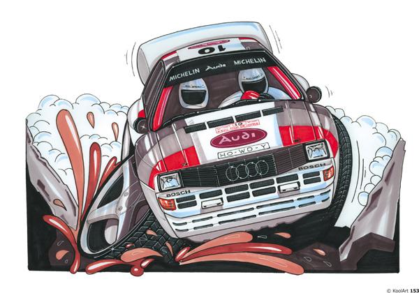 Audi Quattro S2 rallyeeee Blanche