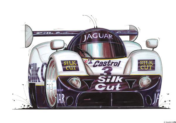 Jaguar XJR WSCC Blanche