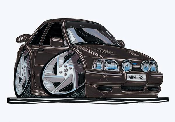 Ford Escort RS Noire