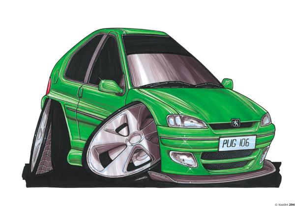 Peugeot 106 Verte